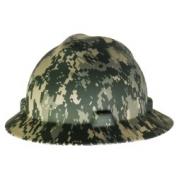 MSA V-Gard Full Brim Hard Hat - Camouflage