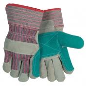 Memphis 1211J Split Shoulder Jointed Double Palm Leather Gloves - 2.5\\\