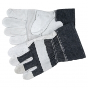Memphis 1220DX Leather Gloves - Patch Palm with 2.5\\\