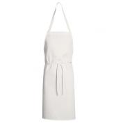 Chef Designs Twill Standard Bib Apron White