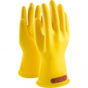 PIP Novax Rubber Insulating Gloves - 11 Inches - Class 0 - Yellow