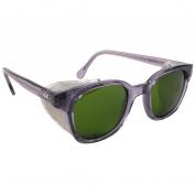 Bouton 5900 Traditional Safety Glasses - Smoke Frame - Green IR 3.0 Lens