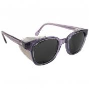 Bouton 5900 Traditional Safety Glasses - Smoke Frame - Gray Anti-fog Lens