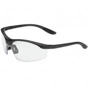 Bouton 250-25-00 MAG Readers Safety Glasses - Black Frame - Clear Bifocal Lens