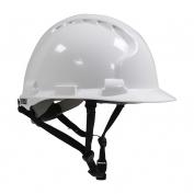 JSP MK8 Evolution for Linesman ANSI Type II Hard Hat - White