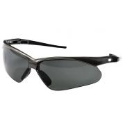 Nemesis Polarized Safety Glasses - Gunmetal Frame - Smoke Lens