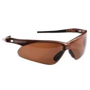 Nemesis Safety Glasses - Brown Frame - Brown Lens