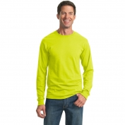 Jerzees 29LS Heavyweight Blend Long Sleeve T-Shirt - Safety Green