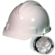 Jackson 20392 Charger Hard Hat - Ratchet Suspension - White