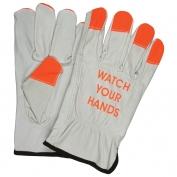 Memphis 3215HVI Industry Grade Cow Grain Driver Gloves - \\\