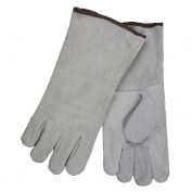 Memphis Gloves Economy Grade Gray Welder