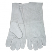 Memphis 4155 B-Grade Shoulder Welder Gloves - 13 inch - Gray