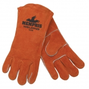 Memphis 4300 Red Ram Premium Select Shoulder Cow Leather - Welder Gloves - Brown