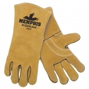 Memphis 4620 Kodiak Premium Split Select Shoulder Cow Leather - Welders Gloves - Gold