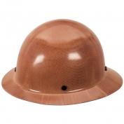 MSA 475407 Skullgard Full Brim Hard Hat - Fas-Trac Suspension - Tan
