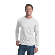 Fruit of the Loom 4930 Heavy Cotton HD Long Sleeve T-Shirt  - White