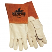 Memphis 4940 Mustang Top Grain Cowhide Leather - MIG/TIG Welders Gloves - Brown