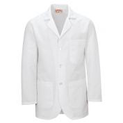 Red Kap Men\\\'s Button Front Lab Coat - White