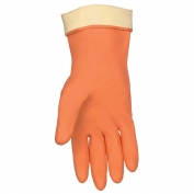 Memphis 5430 Unsupported Neoprene Gloves - Flock Lined - Orange - 28 mil