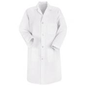 Red Kap Men\\\'s Four Button Front Lab Coat