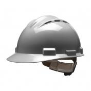 Bullard S62DGR Standard Vented Hard Hat - Ratchet Suspension - Dove Grey