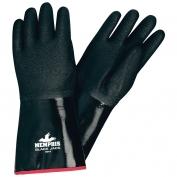 Memphis 6944 Black Jack Multi-Dip Neoprene Gloves - Rough Finish - Foam - Black - 12 Inch