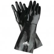 Memphis 6948 Black Jack Multi-Dip Neoprene Gloves - Smooth Finish - Interlock Lined - Black - 18 Inch