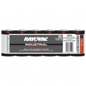 Rayovac Heavy Duty Industrial Size D Batteries Case 72