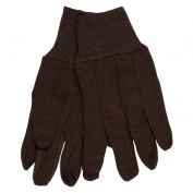 Memphis 7100P Men\\\'s 100% Cotton Brown Jersey Gloves
