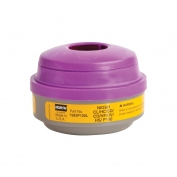 North Safety Organic Vapor and Acid Gas Cartridge with P100 Particulate Filter