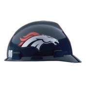 Denver Broncos MSA V-Gard Hard Hat