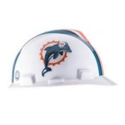 Miami Dolphins MSA Hard Hat