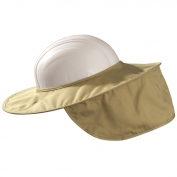 MiraCool Stow-Away Hard Hat Neck Shade - Khaki