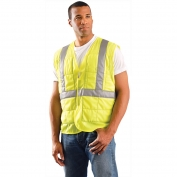 OccuNomix 901 MiraCool Plus ANSI Class 2 Cooling Vest - Yellow/Lime