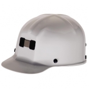 MSA 91522 Comfo-Cap Mining Hard Hat - Staz-On Suspension - White