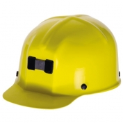 MSA 91585 Comfo-Cap Mining Hard Hat - Staz-On Suspension - Yellow