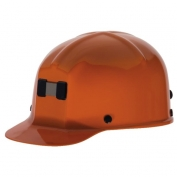 MSA 91589 Comfo-Cap Mining Hard Hat - Staz-On Suspension - Orange