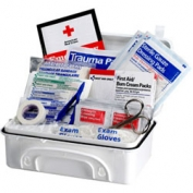 First Aid Only 930010PF 10-Person, 96 Piece Contractor First Aid Kit - Plastic Case