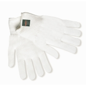 Memphis 9620 Thermostat String Knit Gloves - 10 Gauge - White