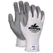 Memphis Ultratech Dyneema Gloves - 13 Gauge Dyneema Shell - Nitrile Foam Coating - Gray