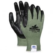 Memphis Dyneema Blended Shell - Coated Palm and Fingertips - Green