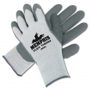 Memphis 9690 FlexTherm Latex Coated Palm Gloves - Cotton/Poly/Acrylic - 10 Gauge - Gray