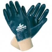 Memphis Gloves Fully Coated, Knit Wrist
