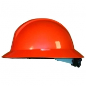 North A119R Everest Full Brim Hard Hat - ANSI Type II Compliant - Orange