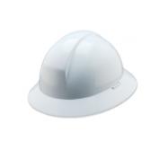North A49R Everest Full Brim Hard Hat - Ratchet Suspension - White