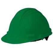 North A59 Peak Hard Hat - Plastic Suspension with Pinlock Adjustment - Green Hat