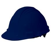 North A59 Peak Hard Hat - Plastic Suspension with Pinlock Adjustment - Dark Blue
