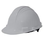 North A59 Peak Hard Hat - Plastic Suspension with Pinlock Adjustment - Grey