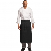 Port Authority A701 Easy Care Full Bistro Apron with Stain Release - Black