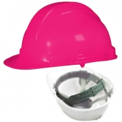 North A79 Peak Hard Hat - Nylon Suspension with Pinlock Adjustment - Hot Pink